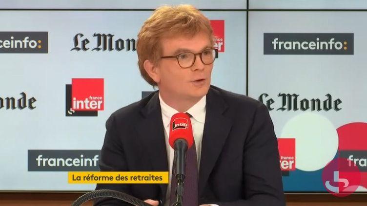 Marc Fesneau, ministre chargé des Relations avec le Parlement. (RADIO FRANCE)