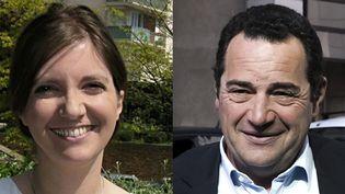 Dans la 10e circonscription des Yvelines, Aurore Bergé, candidate de La République en marche, affronte Jean-Frédéric Poisson, député sortant investi par LR. (MAXPPP)