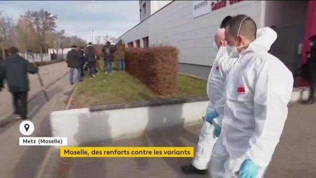 Moselle : un département sous haute surveillance, des marins-pompiers de Marseille en renfort