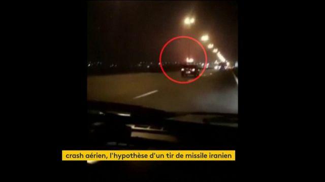 Crash aérien : un tir de missile iranien ?