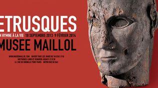 """Affiche de l'exposition """"Etrusques. Un hymne à la vie""""  (DR)"""