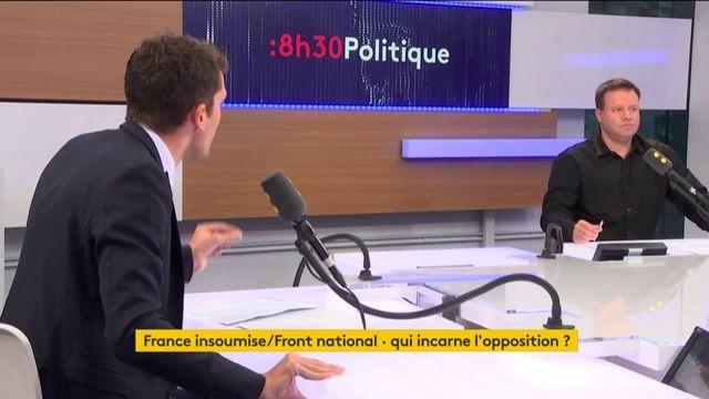 """Les députés FI """"les députés de l'anti-France"""" attaque Julien Sanchez"""