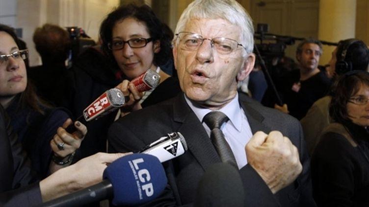Maxime Gremetz (octobre 2010) (AFP / François Guillot)