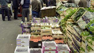 Le marché international de Rungis (Val-de-Marne), le 19 novembre 2015. (ADRIEN MORLENT / AFP)