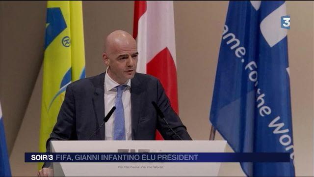 FIFA : Gianni Infantino prend la tête de l'instance