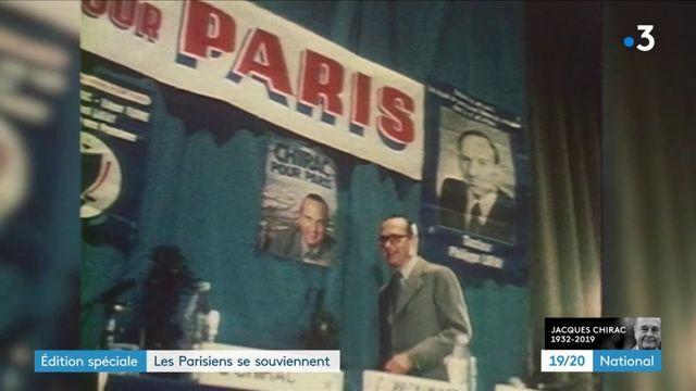 Mort de Jacques Chirac : l'hommage des Parisiens à leur ancien maire