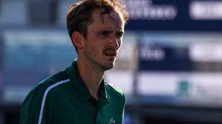 Daniil Medvedev a été testé positif au covid-19 avant son entrée en lice au Masters de Monte-Carlo.  (MARK BROWN / GETTY IMAGES NORTH AMERICA)