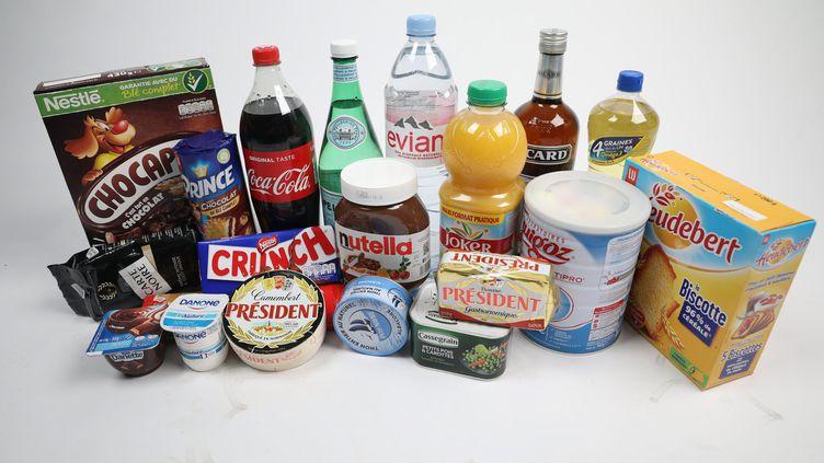 Les prix de certaines denrées alimentaires dans la grande distributionont augmentédepuis le 1er février 2019 (illustration). (ARNAUD JOURNOIS / MAXPPP)