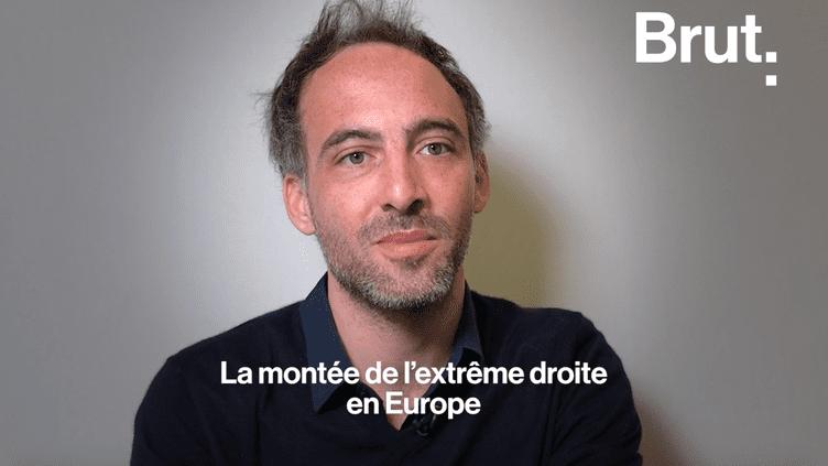 """Pour Raphaël Glucksmann, la montée de l'extrême droite en Europe est """"un phénomène global"""" (BRUT)"""