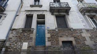 La maison de Xavier Dupont de Ligonnès,dans laquelle s'est déroulé le quintuple meurtre de son épouse et de ses quatre enfants, photographiée à Nantes (Loire-Atlantique), le 10 février 2014. (MAXPPP)
