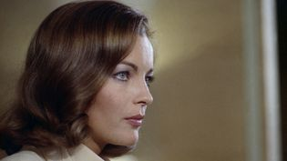"""L'actrice Romy Schneider dans """"Le Mouton enragé"""", en 1974. (VIADUC PRODUCTIONS / AFP)"""