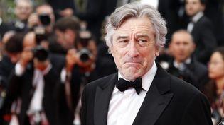 L'acteur américain Robert de Niro, président du festival de Cannes, lors de la montée des marches, le 14 mai 2011. (FRÉDÉRIC DUGIT / MAXPPP)