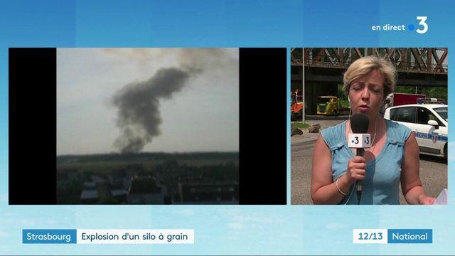 Strasbourg : plusieurs blessés dans l'explosion d'un silo à grain