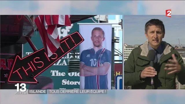 Islande : la ferveur de tout un pays derrière son équipe de football