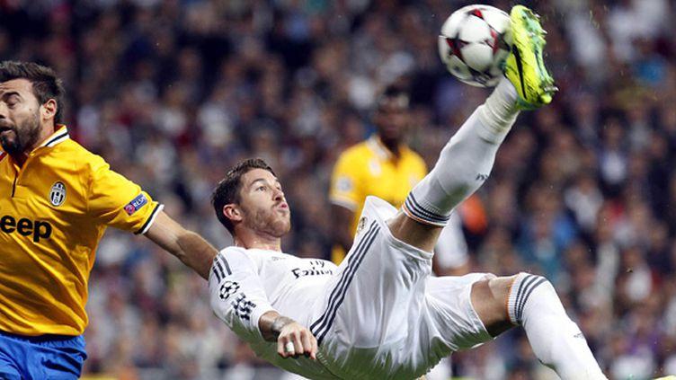 Sergio Ramos dans ses oeuvres (Real Madrid) (PEPE FUENTES / ANADOLU AGENCY)