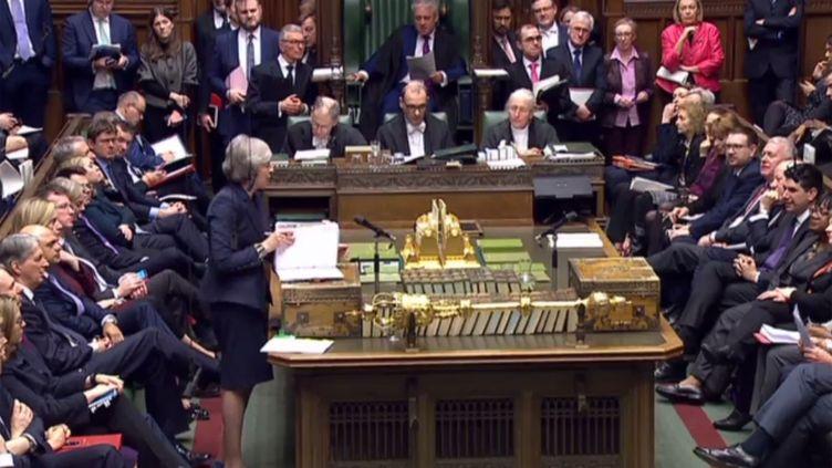 La Chambre des Communes, le 13 février 2019 à Londres (Royaume-Uni). (AFP)