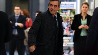 François Fillon à Paris, le 6 mars 2017 (GABRIEL BOUYS / AFP)