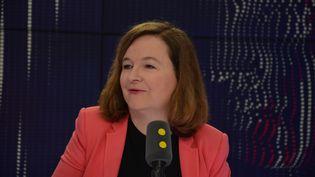 Nathalie Loiseau, ministre chargée des Affaires européennes. (JEAN-CHRISTOPHE BOURDILLAT / RADIO FRANCE)