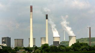 La centrale à charbon de Scholven (Allemagne), photographiée le 2 juin 2016. (ROLAND WEIHRAUCH / DPA / AFP)
