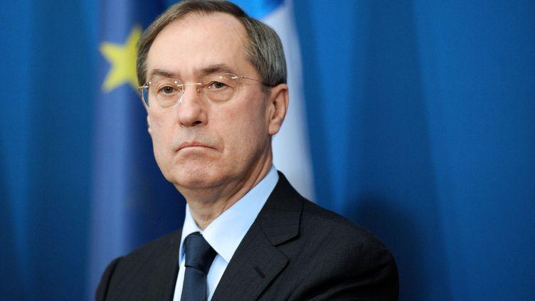 Claude Guéant, le 2 décembre 2011 à Paris, alors qu'il était ministre de l'Intérieur. (BERTRAND GUAY / AFP)