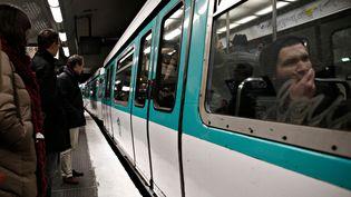 Le métro parisien, le 12 décembre 2017. (ALEXANDROS MICHAILIDIS / SOOC)