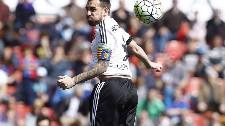 Paco Alcacer quitte Valence pour Barcelone. (  BAGU BLANCO / BACKPAGE IMAGES LTD)