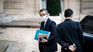 Le ministre de l'Intérieur, Gérald Darmanin, le 15 octobre 2020 à Paris. (XOSE BOUZAS / HANS LUCAS / AFP)