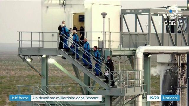 Tourisme spatial : Jeff Bezos est allé, à son tour, dans l'espace