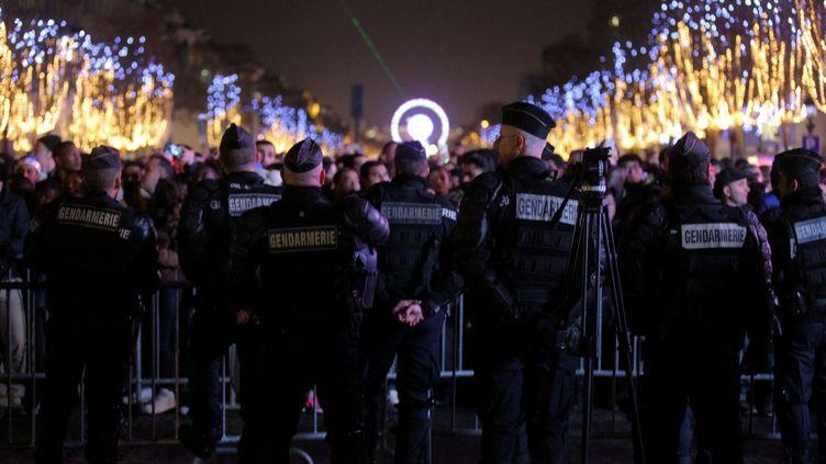 À Paris, les forces de l'ordre seront particulièrement mobilisées dans le secteur des Champs-Élysées. (OLIVIER ARANDEL / MAXPPP)