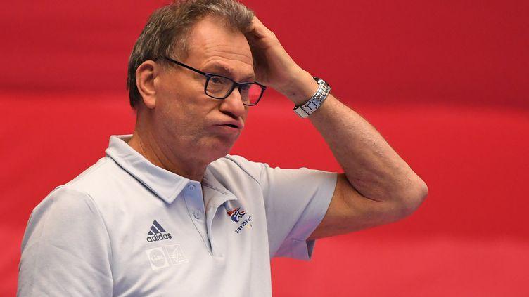 Les joueuses d'Olivier Krumbholz n'ont rien lâché mais ont fini par s'incliner. (JONATHAN NACKSTRAND / AFP)