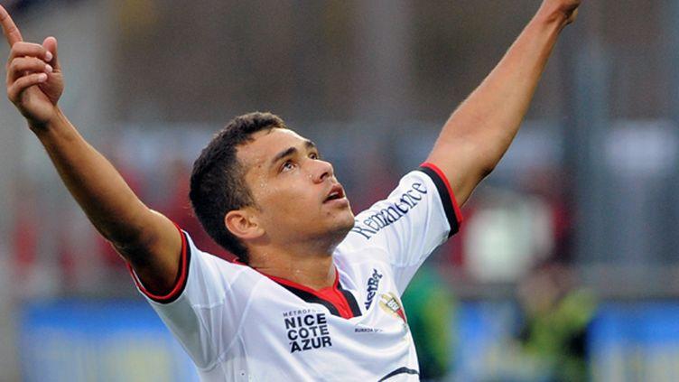 Le Brésilien Carlos Eduardo  (FRED TANNEAU / AFP)