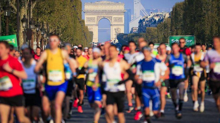 MARATHON DE PARIS 2019 / 14 AVRIL 2019 /ASO / A.VIALATTE (AURELIEN VIALATTE)