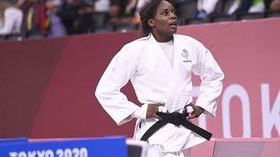 La judokate française Madeleine Malonga lors du tournoi olympique au Nippon Budokan de Tokyo, jeudi 29 juillet 2021. (HERVIO JEAN-MARIE / KMSP via AFP)