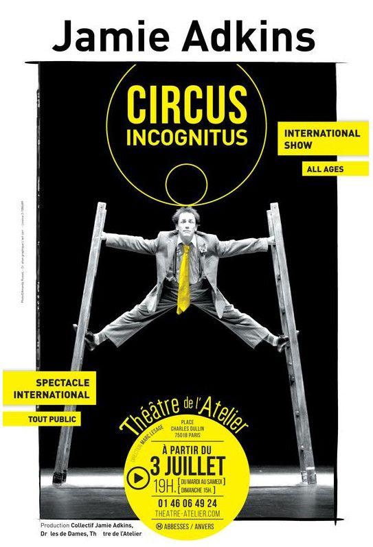 L'affiche du Circus Incognitus (Circus Incognitus)