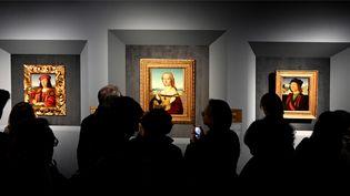 L'exposition Raphaël à Rome, aux Ecuries du Quirinal (4 mars 2020) (ALBERTO PIZZOLI / AFP)