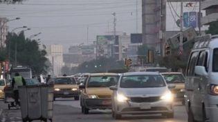 Depuis lundi 20 janvier, trois Français de l'ONG SOS Chrétiens d'Orient ont disparu dans les rues de Bagdad, en Irak. (FRANCE 2)