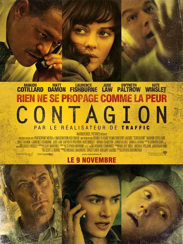 """L'affiche française du film """"Contagion"""". (WARNER BROS. FRANCE)"""