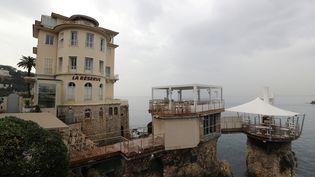Le restaurant La Réserve à Nice (Alpes-Maritimes), propriété de Jacqueline Veyrac, le 25 octobre 2016. (VALERY HACHE / AFP)