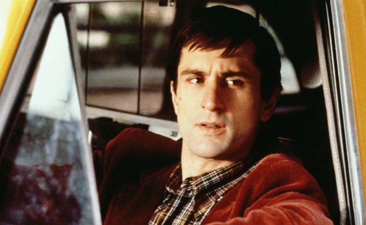 Robert De Niro joue le rôle de Travis Bickle dans Taxi Driver de Martin Scorsese (1976)  (ARCHIVES DU 7EME ART / PHOTO12)