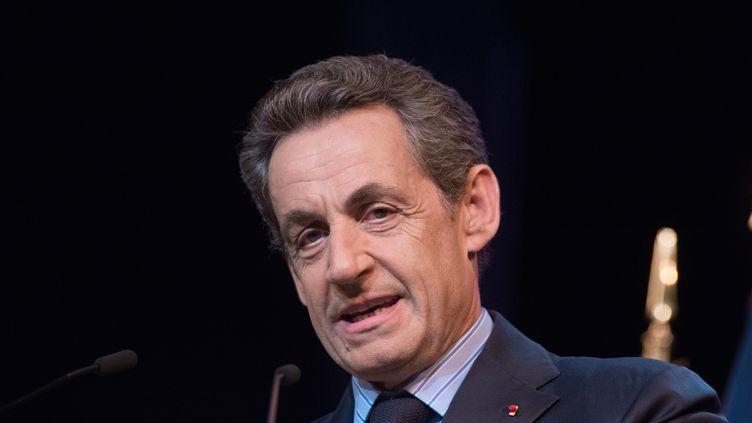Nicolas Sarkozy, le 10 juin 2015, à Paris. (FRANCOIS PAULETTO / AFP)