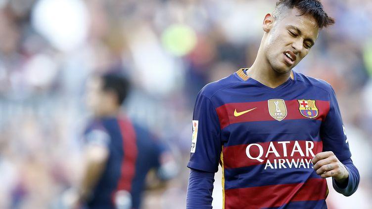 Neymar, l'attaquant brésilien du Barça (  BAGU BLANCO / BACKPAGE IMAGES LTD)