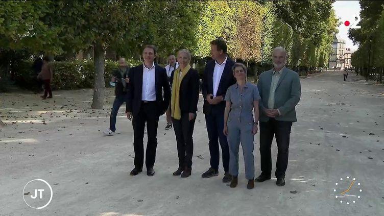 Les candidats à la primaire écologiste. (France 2)