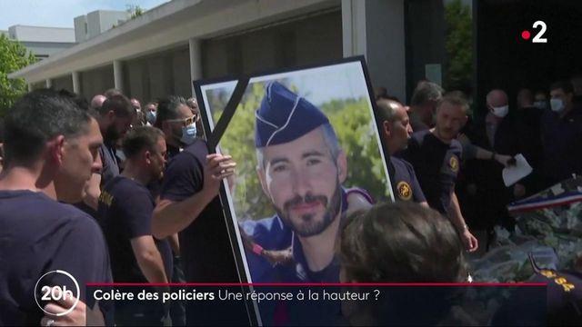 Policier tué à Avignon : face à la colère des policiers, la réponse du gouvernement est-elle à la hauteur ?