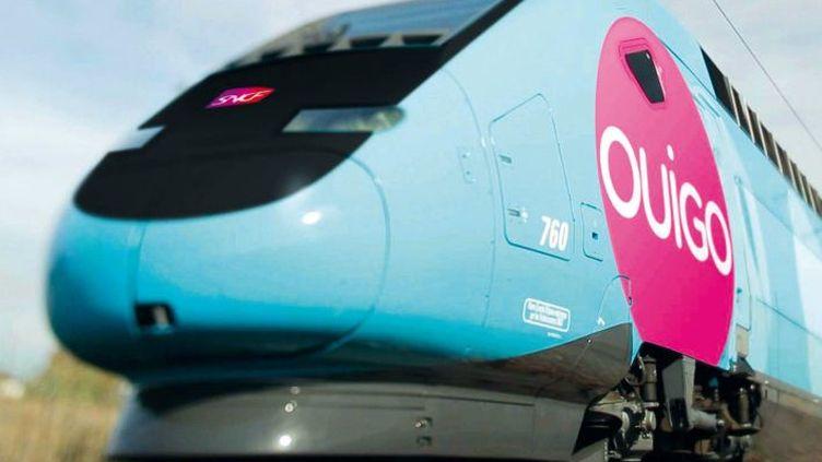 Le TGV low cost lancé mardi 19 février par la SNCF, Ouigo, sera rose et bleu. (DR)