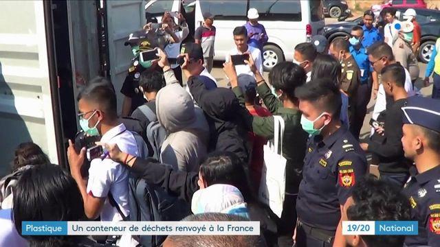 L'Indonésie renvoie des conteneurs de déchets à la France