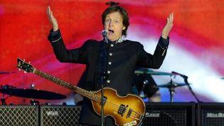 Concert de Paul McCartney lors du Jubilée de la reine, 04 juin 2012  (LEON NEAL / AFP)