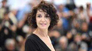 L'actrice française Zabou Breitman est co-réalisatrice du film d'animation Les hirondelles de Kaboul, en lice pour le prix Un certain regard. (LOIC VENANCE / AFP)