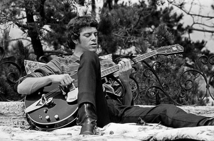Lou Reed au Castle de Los Angeles en 1966. Il a alors 24 ans.  (Lisa Law)