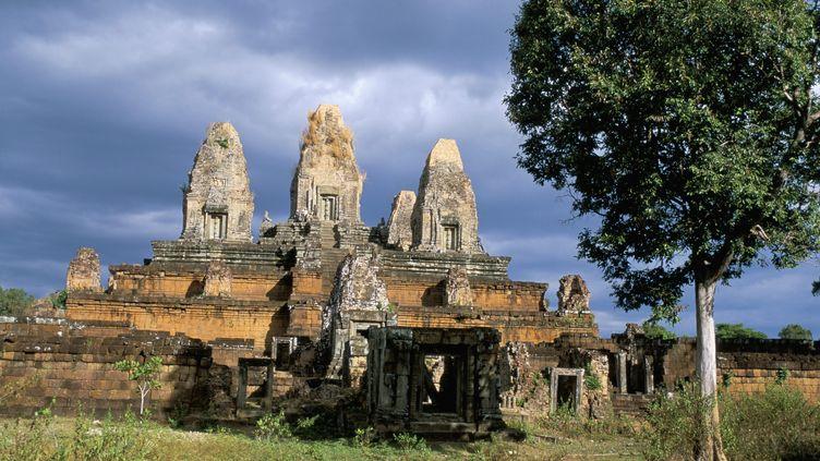 Letemple Prè Rup à Angkor au Cambodge, site classé au patrimoine mondial de l'Unesco. (BRUNO MORANDI / ROBERT HARDING HERITAGE / AFP)