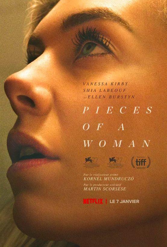"Affiche de ""Pieces of a woman"" deKornél Mundruczó. (NETFLIX)"